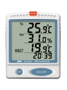 熱中症指数モニタ- AD-5693