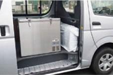 車両のシガーソケットに接続すれば車載可能